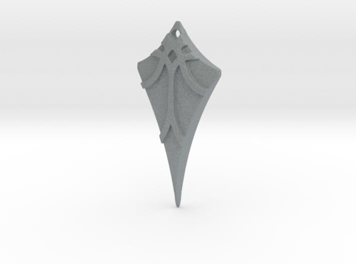 Flow Pendant 7 3d printed