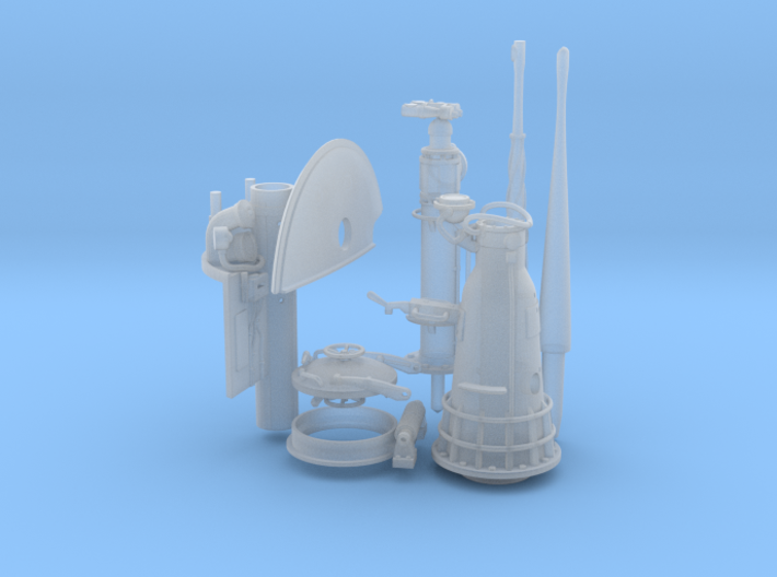 1/48 1/40 Conning tower set. (make sure you pick t 3d printed