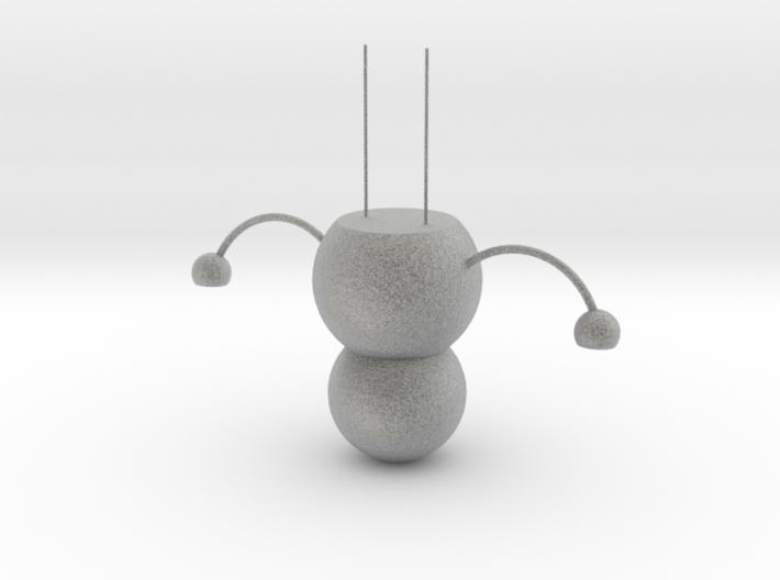 Snowman chandelier 3d printed