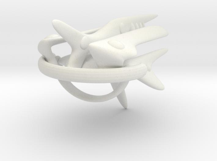 Jujoban Battleship 3d printed