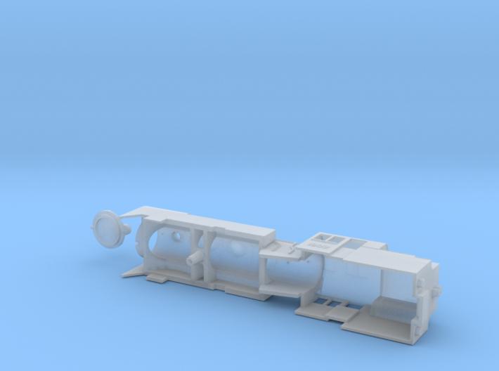 Pr2 N-scale 3d printed