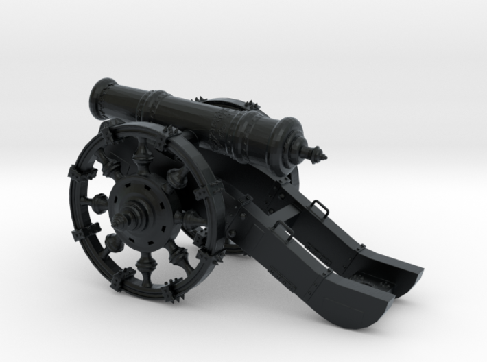 Cannon Detailed  3d printed