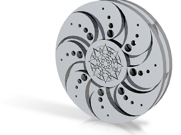 Galaxy Fidget Spinner 3d printed
