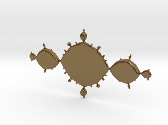 Fractal Tri-Polygon 3d printed