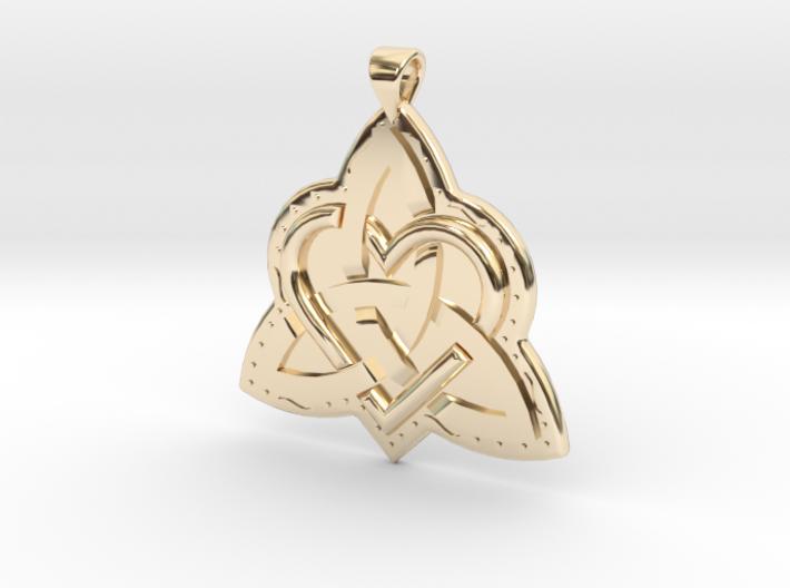 Celtic Knot 2 Pendant 3d printed