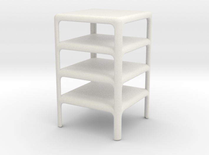 Stack of 4 Demetrio 45 Tables (Space: 1999), 1/30 3d printed