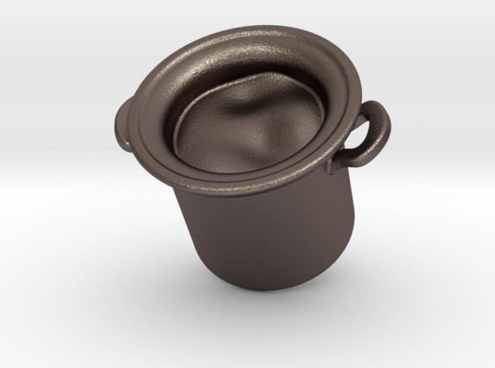Big Pot Earring 3d printed