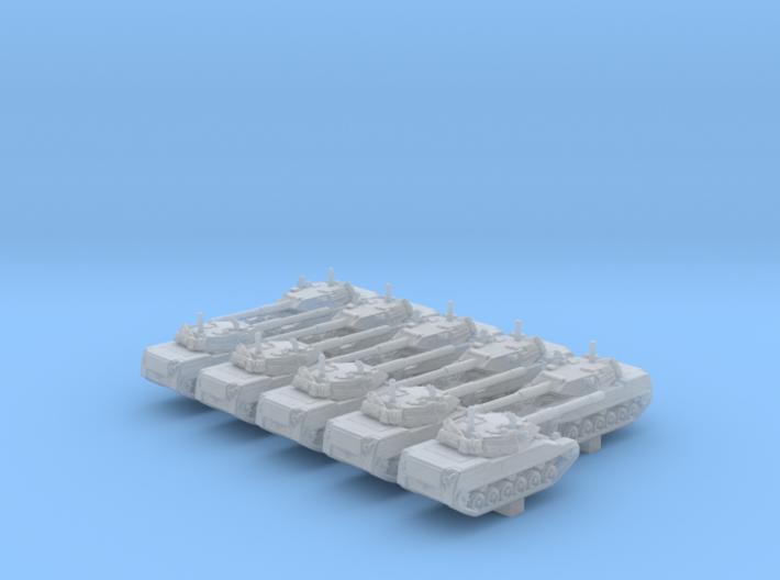 1/700 US Stingray Light Tank x10 3d printed 1/700 US Stingray Light Tank x10