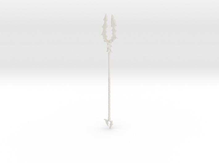 """BotW"" Forked Lizal Spear 3d printed"