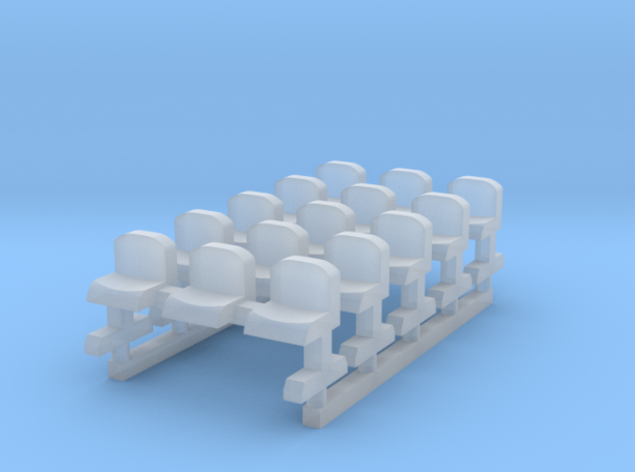 Bench type B - Z scale 1:220 3d printed