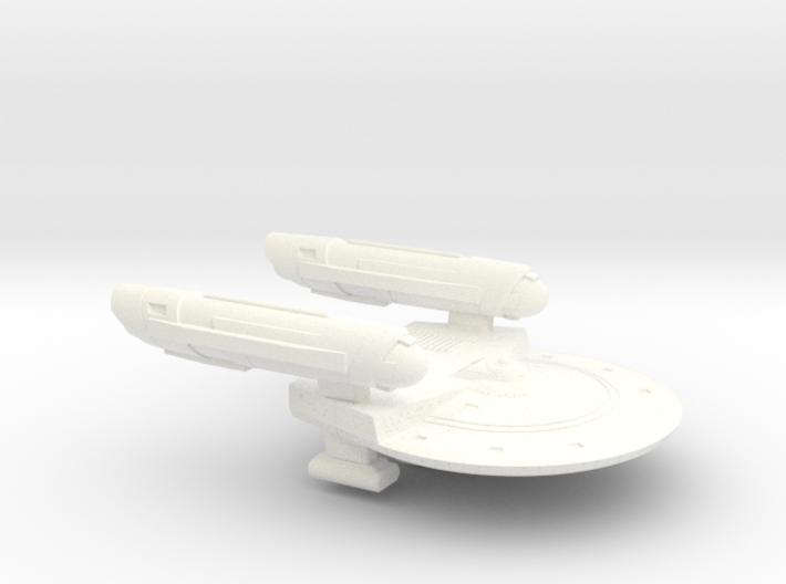 Terran Yvonne Class Frigate - 1:7000 3d printed