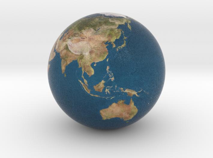 Earth Globe 3d printed