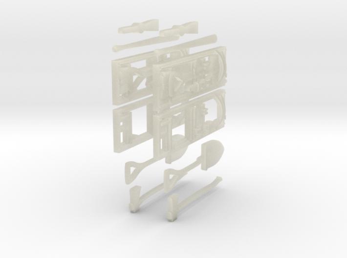 1-50 US Pioneer Tool Rack 3d printed