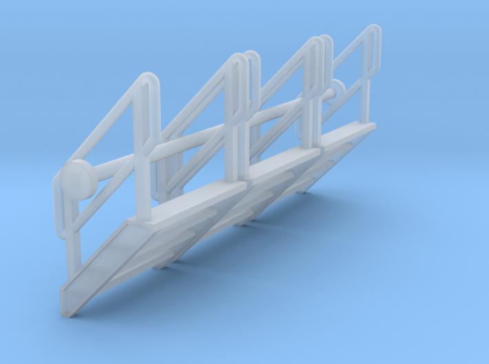 HO 3x Stairs #4 3d printed