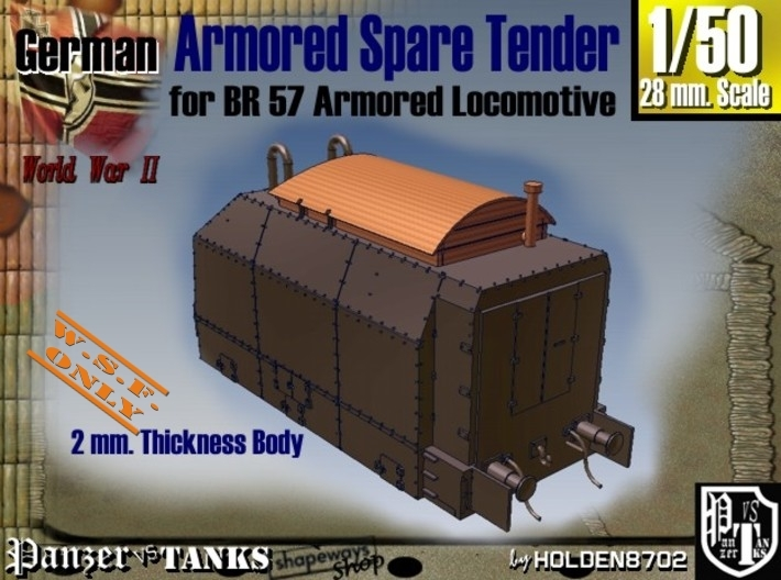 1-50 Spare Tender For BP-42 3d printed