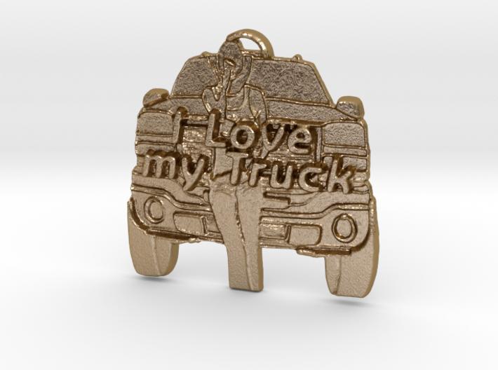 Girl, Love my Truck 3d printed