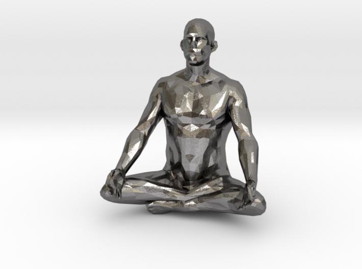 meditation pose male 3d printed