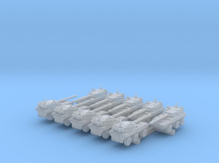 1/700 US LAV-600 Tank Destroyer x10 3d printed 1/700 US LAV-600 Tank Destroyer x10