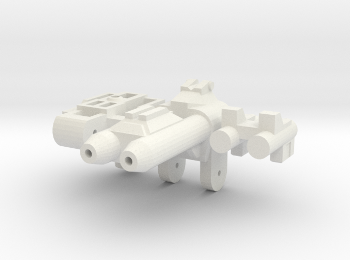 Gunmaster #3, Short-Barrel Kit, 5mm Handle 3d printed