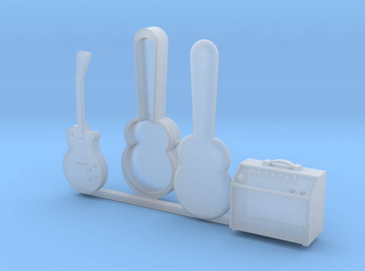 1/24 Scale Guitar Collection (Electric Bundle) 3d printed