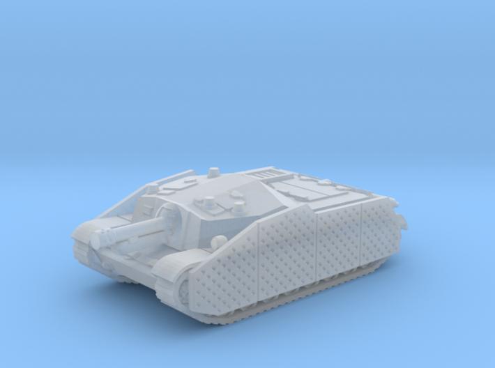 43M Zrinyi tank (Hungary) 1/144 3d printed