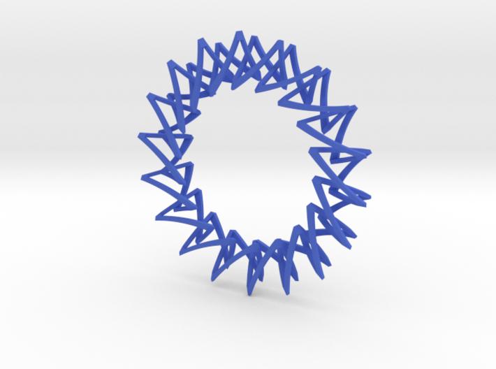 Necklace Escher 3d printed