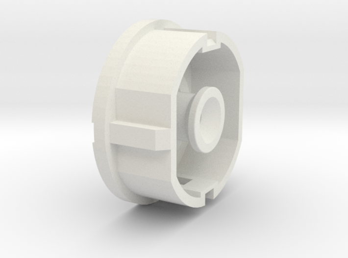 Plug Cover with hidden handle - Tapa de enchufe co 3d printed