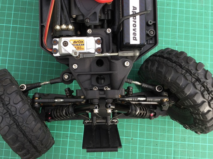 Twin Hammers Steering and Suspension Upgrade 3d printed