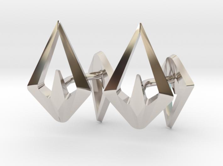 HEAD TO HEAD Sharp, Cufflinks 3d printed