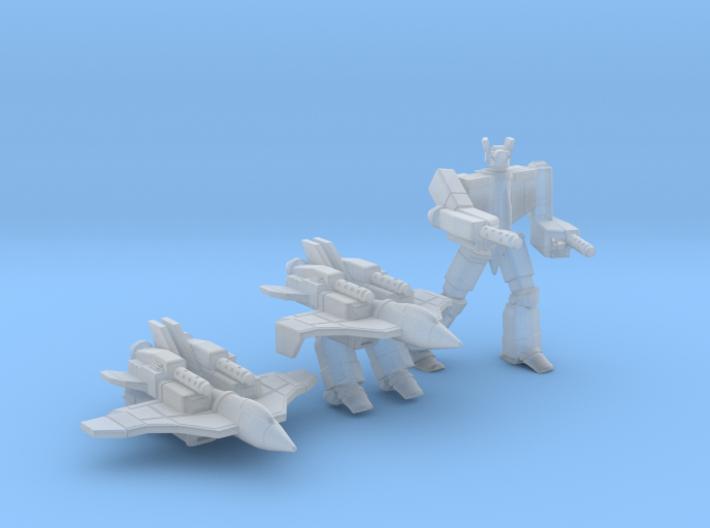 Omega-C Fighter 3d printed