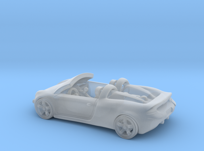 Porsche Carrera GT 1:87 HO 3d printed