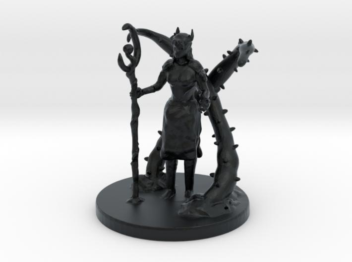 Female Half Elf Druid 3d printed
