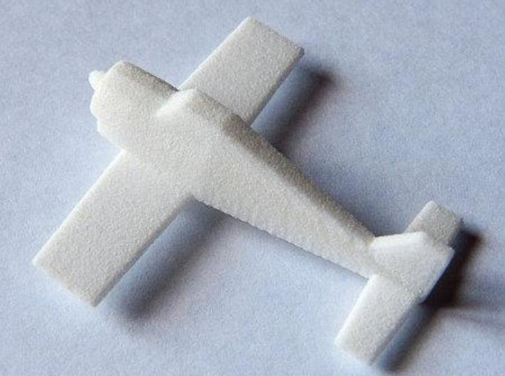 Monoplano 3d printed White Strong & Flexible
