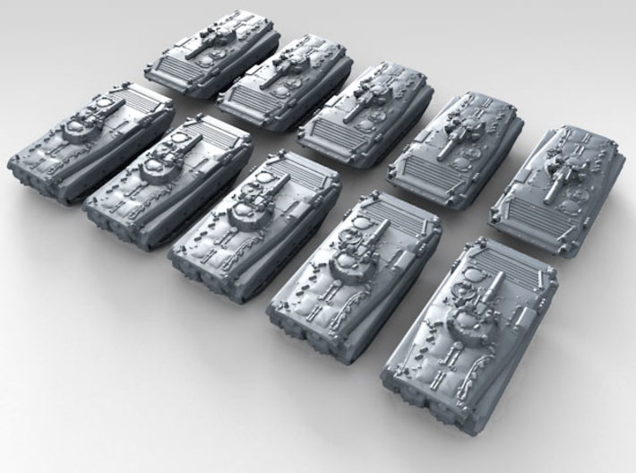 1/600 Polish BWP-1M Puma Infantry Fighting Vehicle 3d printed 3d render showing product detail