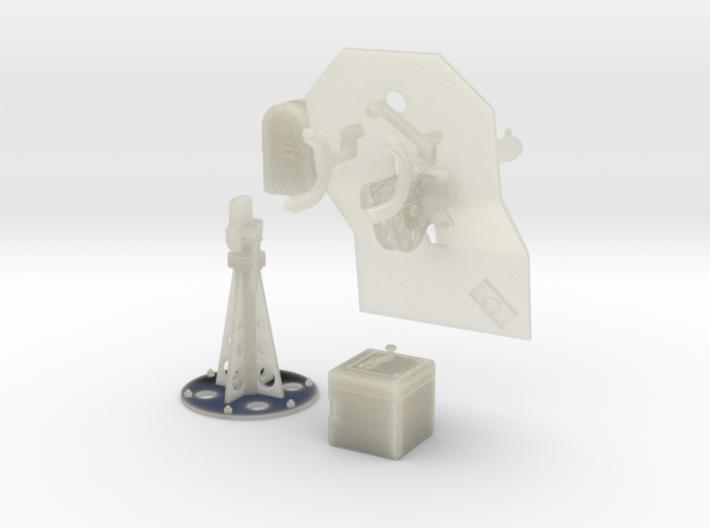 1/35 Cal 50 WC Pedestal Mount M39 3d printed
