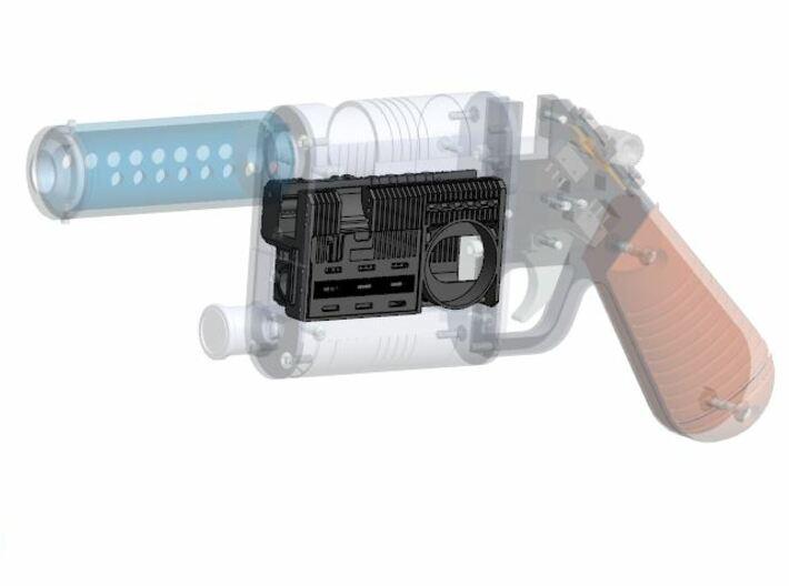 NerfworXlab Rey's blaster - Pistol Chassis V2 3d printed