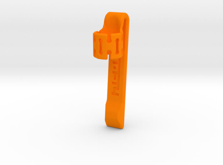 Pen Clip: for 8.0mm Diameter Body 3d printed
