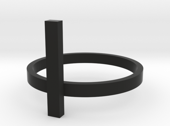 Bar Ring - Size 6 3d printed