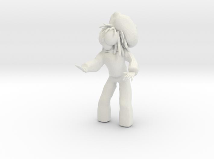 DJ DREADDIE 3D PRINT VERSION 3d printed