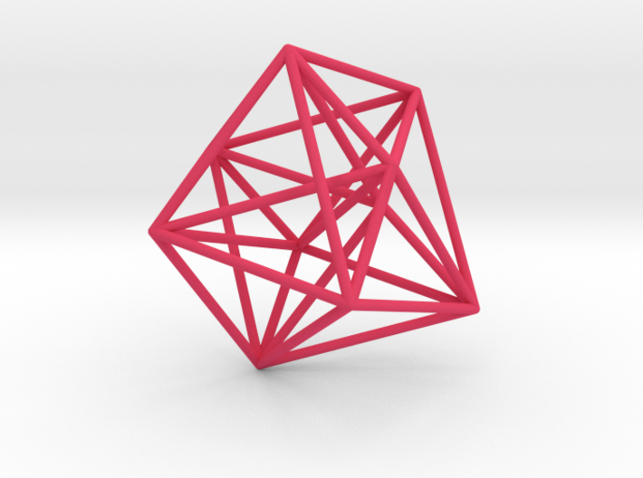 Truncated 4-Dimensional Simplex 3d printed