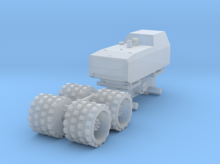 1:64 Trench compactor  3d printed