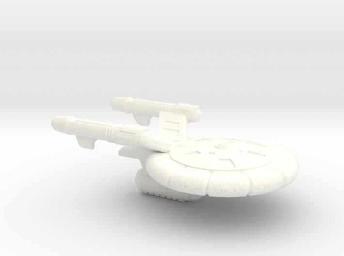 Terran(Early) Columbia Class Heavy Frigate - 1:700 3d printed