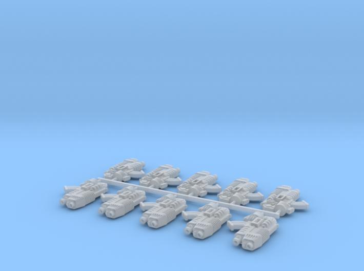 10x Plasfire-OU2B 3d printed