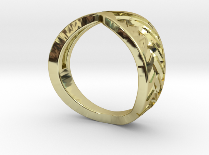 Palm ring external 3d printed