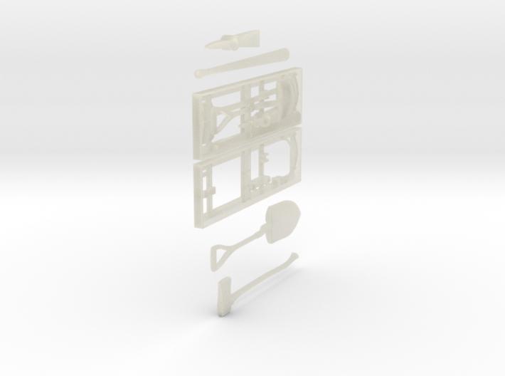1-24 US Pioneer Tool Rack 3d printed