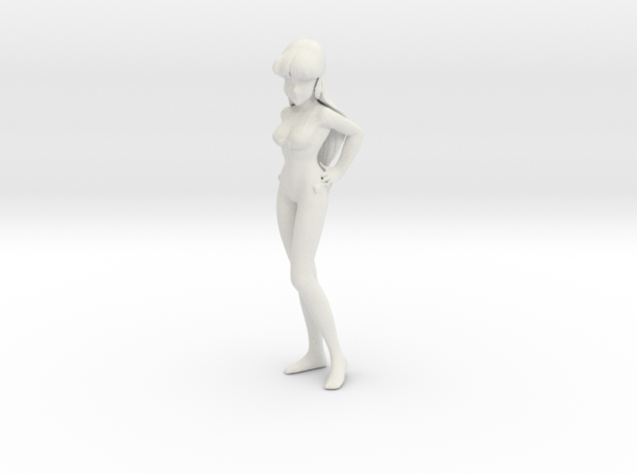 1/7 Space Singer Lynn Minmay in Swim Suit 3d printed