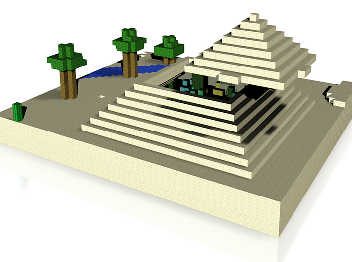 Step Pyramid 3d printed