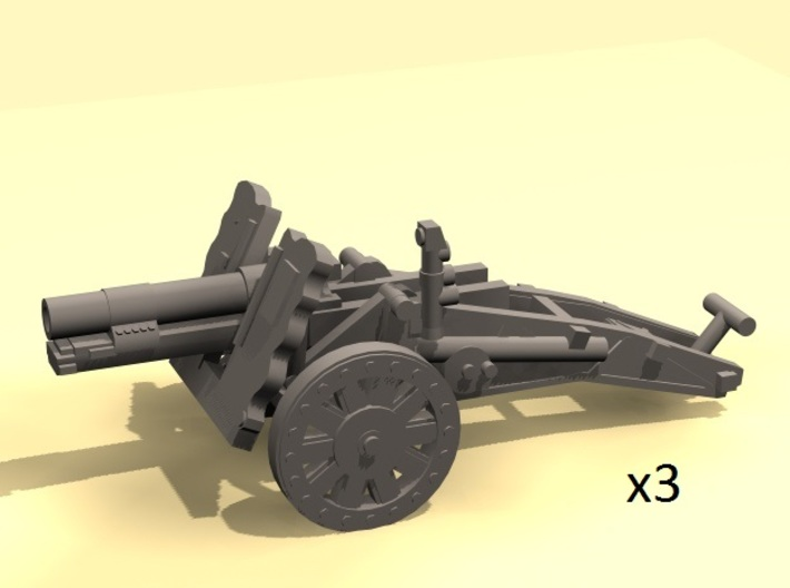 1/100 sIG33 cannon (low detail) 3d printed