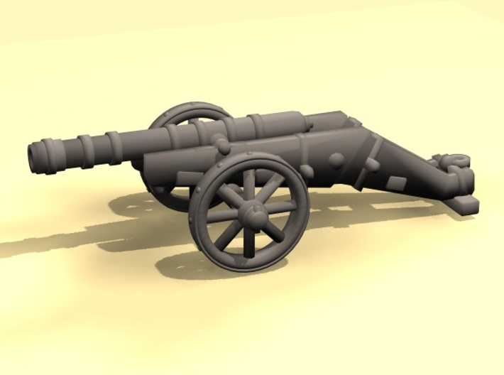 Spanish Cannon - downloadable 3d printed