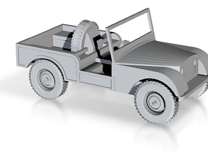1:76 Centre Steer Prototype Series 3d printed